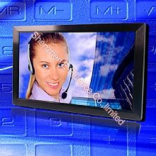 32MR-T LED touch CCTV monitor